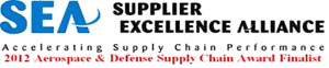 Supplier Excellence Alliance Aerospace & Defense Supply Chain Award Finalist