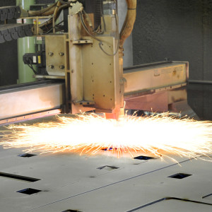Rochester Welding's plasma cutting table is both rugged and flexible.